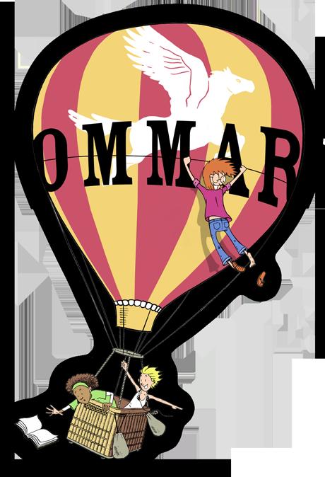 Luftballong med barnen i png 460x674. Klicka för större version png 1036x1517px